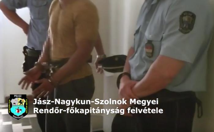 Előzetesben a férfi, aki bombával fenyegette a bíróságot - VIDEÓVAL!