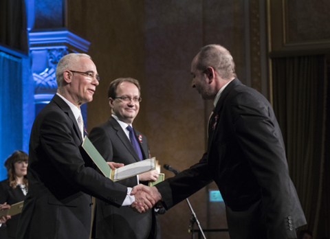 Munkácsy Mihály-díjat kapott Verebes György