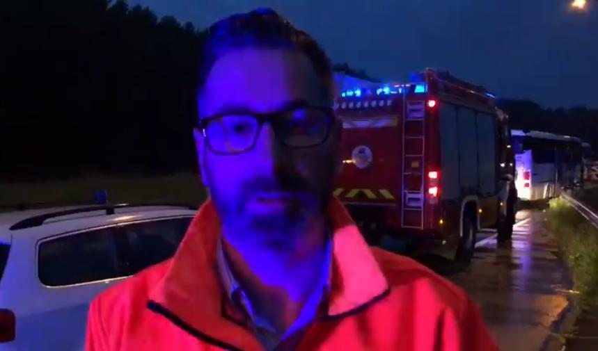 Szolnoki baleset: Szívszorító videóban jelentette be a kollégájának halálhírét