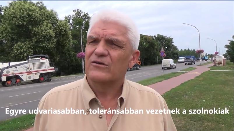 Szalay Ferenc szerint egyre türelmesebben és toleránsabban vezetnek a szolnokiak