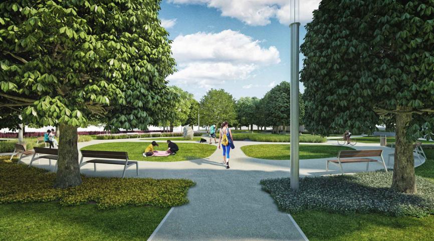 Jövő nyár végére új Tisza Parkot kap Szolnok