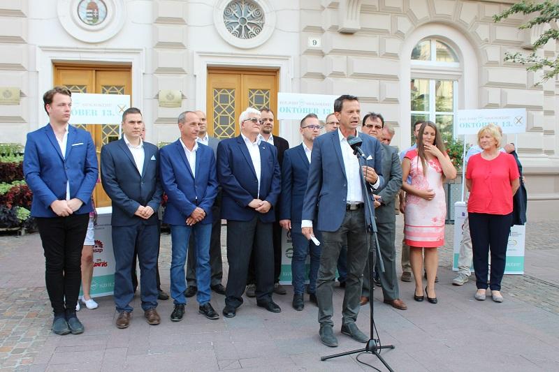 Radócz Zoltán lett a szolnoki ellenzéki polgármesterjelölt