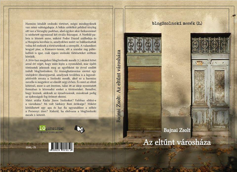 Megjelent Bajnai Zsolt legújabb novelláskötete