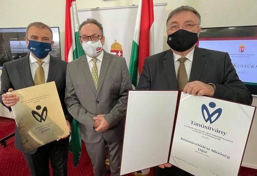 Közművelődési Minőség Díjban részesült idén a szolnoki Aba-Novák Agóra Kulturális Központ